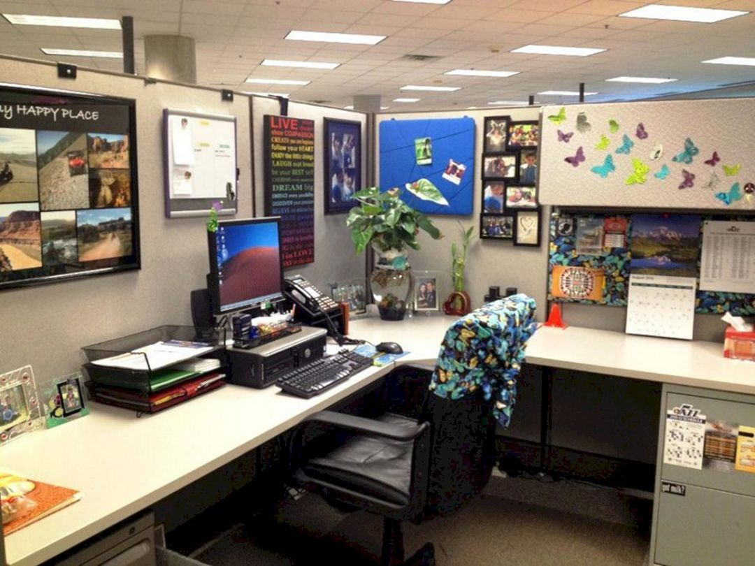25 Incredible Cubicle Workspace Decorating Ideas Cubicle Decor