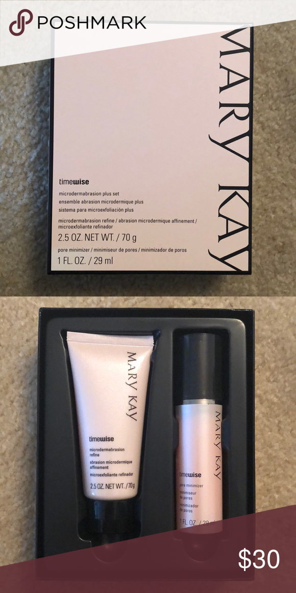 Mary Kay Timewise Microdermabrasion Plus Set Comes With