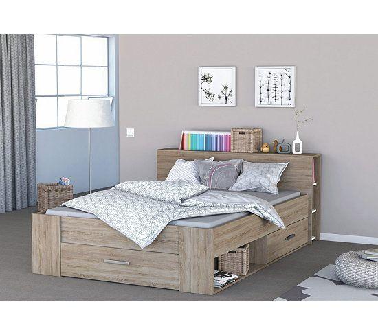 les 25 meilleures id es de la cat gorie lit 140x190 avec rangement sur pinterest cadre de lit. Black Bedroom Furniture Sets. Home Design Ideas