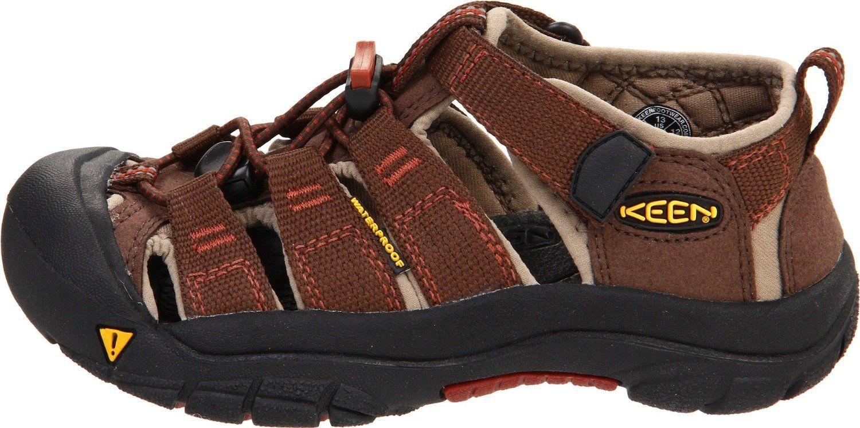Zapatos negros con velcro Keen Newport infantiles 4t67OM