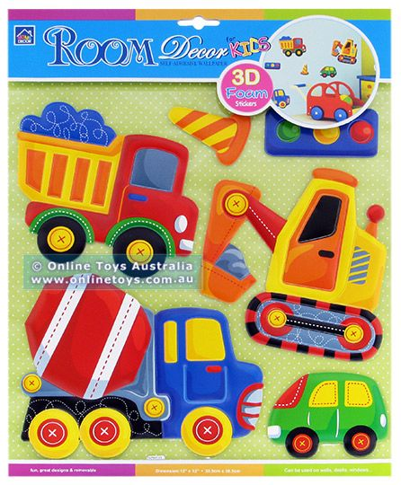 room decor 3d foam stickers - Room Decor 3d