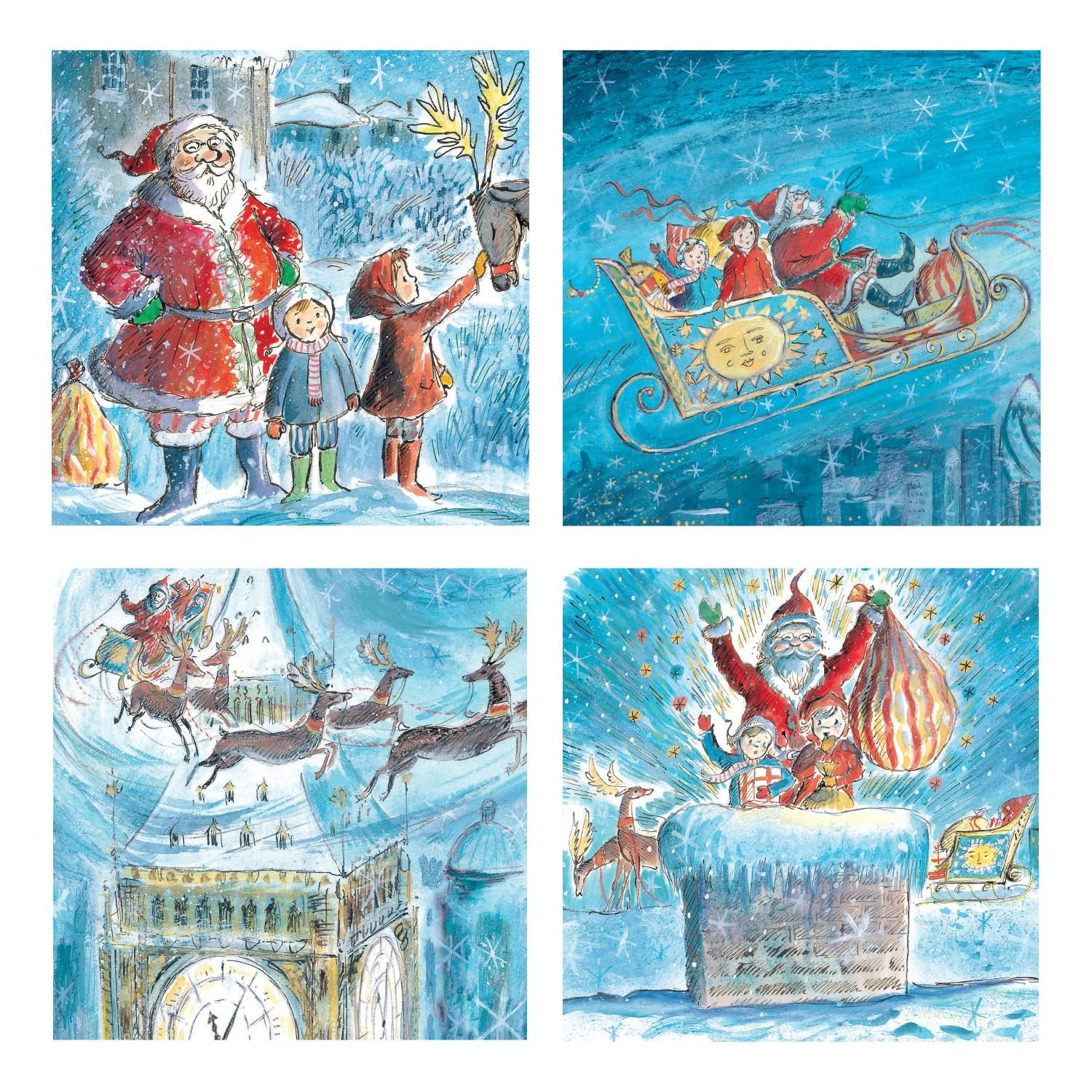 Katie Christmas Cards (set of 8) National Gallery Shop