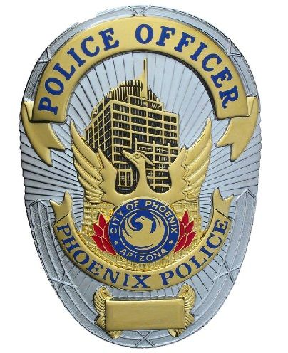 PHOENIX ARIZONA POLICE PATCH