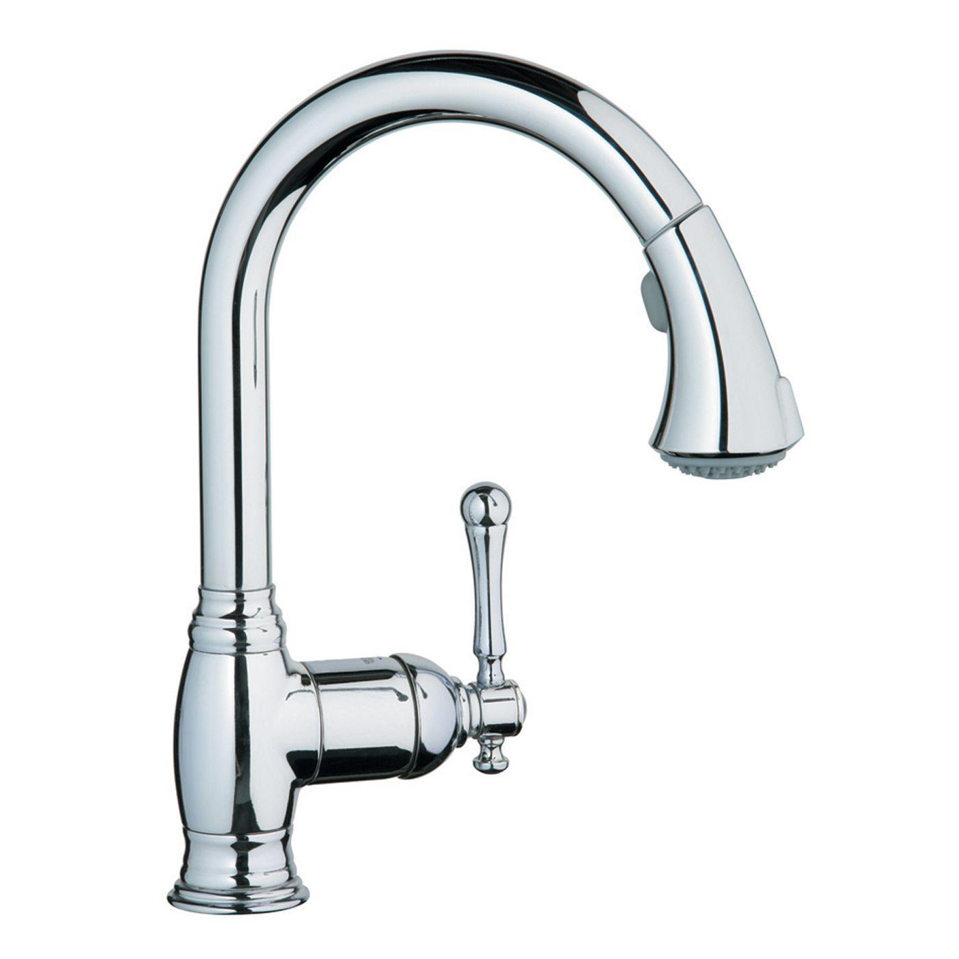 Grohe 33 870 Bridgeford Single Handle Kitchen Faucet