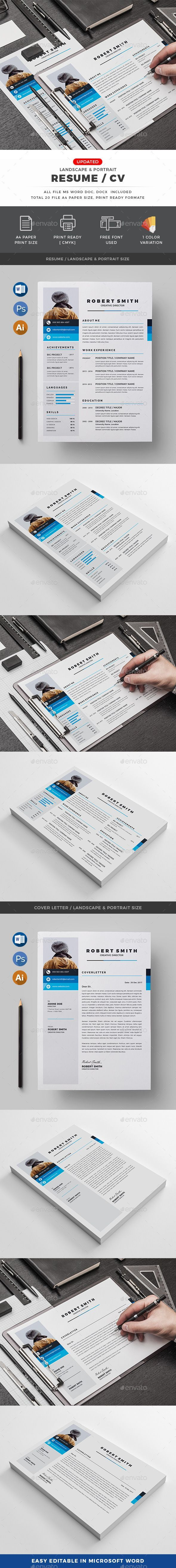 CV Resumes Stationery Download here httpsgraphicrivernet