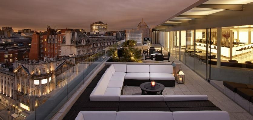Image Result For Me London Hotel Radio Rooftop Bar Visualisierung Rooftop Bar Restaurant Design Rooftop