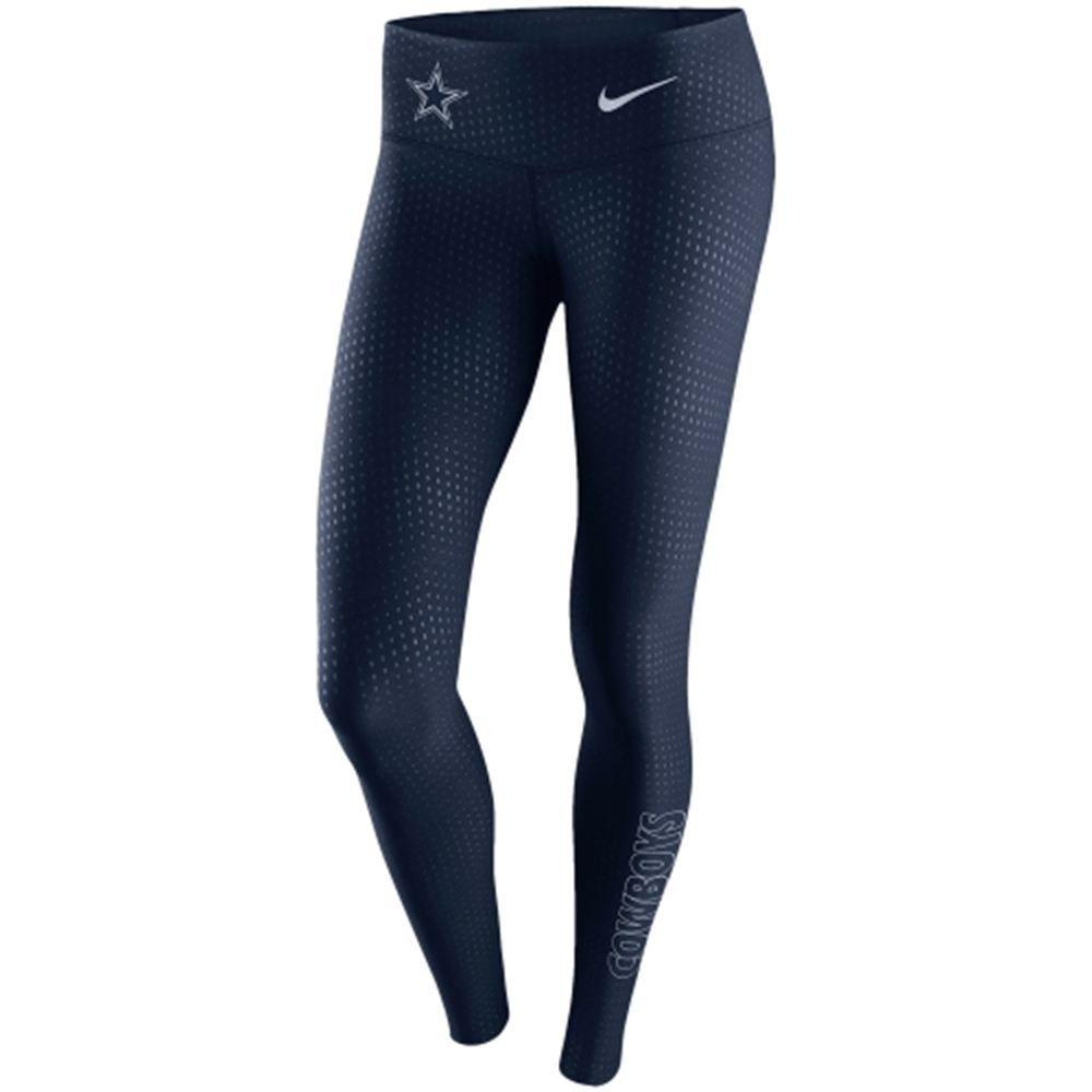 Dallas Cowboys Nike Women's Stadium Legend 2.0 Tight Performance Pants - Navy