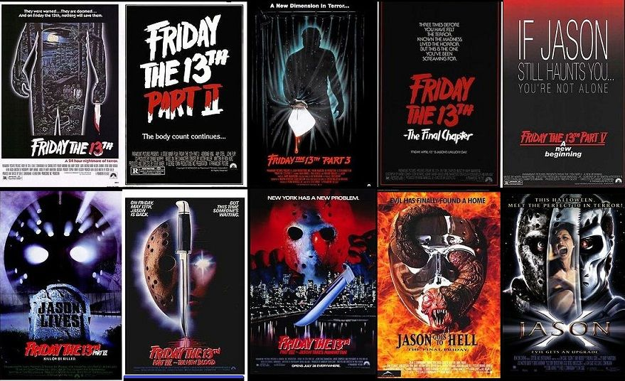 Friday the 13th 1980 2001 friday the 13th poster