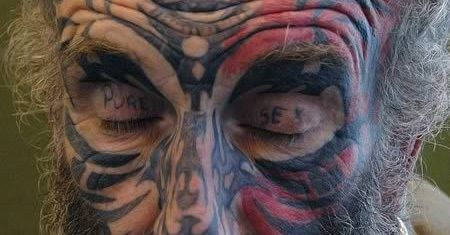 These Eyelid Tattoos are Super Creepy!