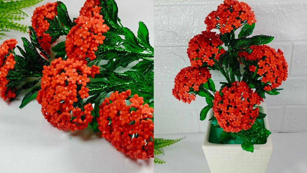 Bunga Yang Warna Merah