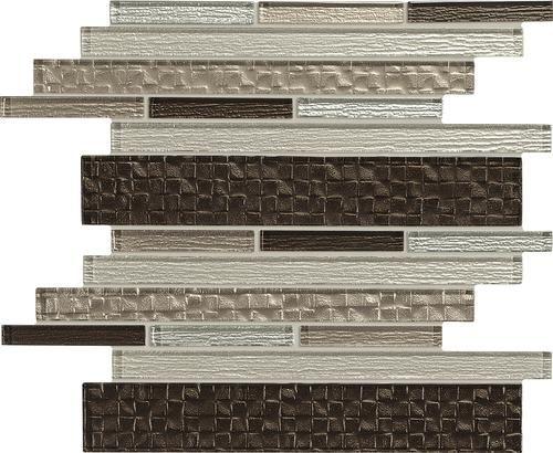 Mohawk Grand Terrace Random Block 12 X 15 Gl Mosaic Tile At Menards