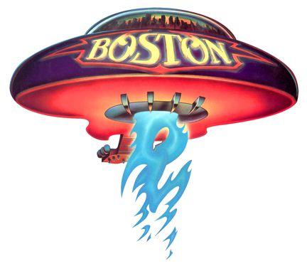 Spaceship Giclee Canvas Album Cover Picture Art Boston
