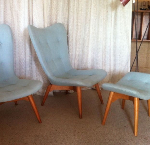 Original 1950s Vintage Retro Featherston R152 Contour Chair