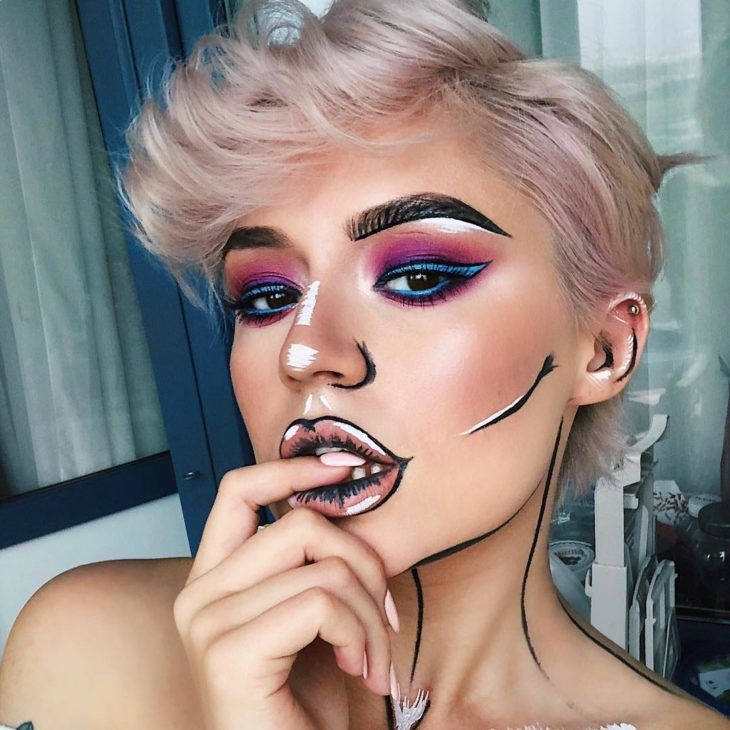 Maquiagem artística: 35 fotos, produtos e passo a passo (VÍDEOS)