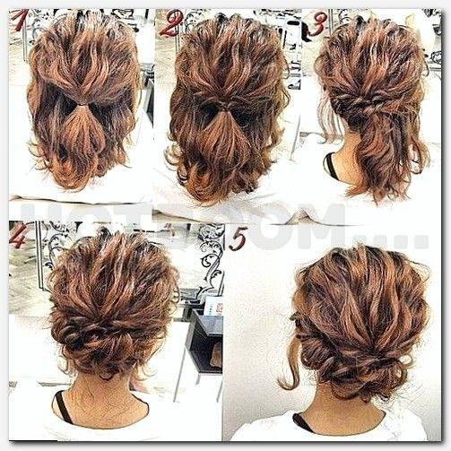 hair upstyles for weddings, womens haircuts medium length ...