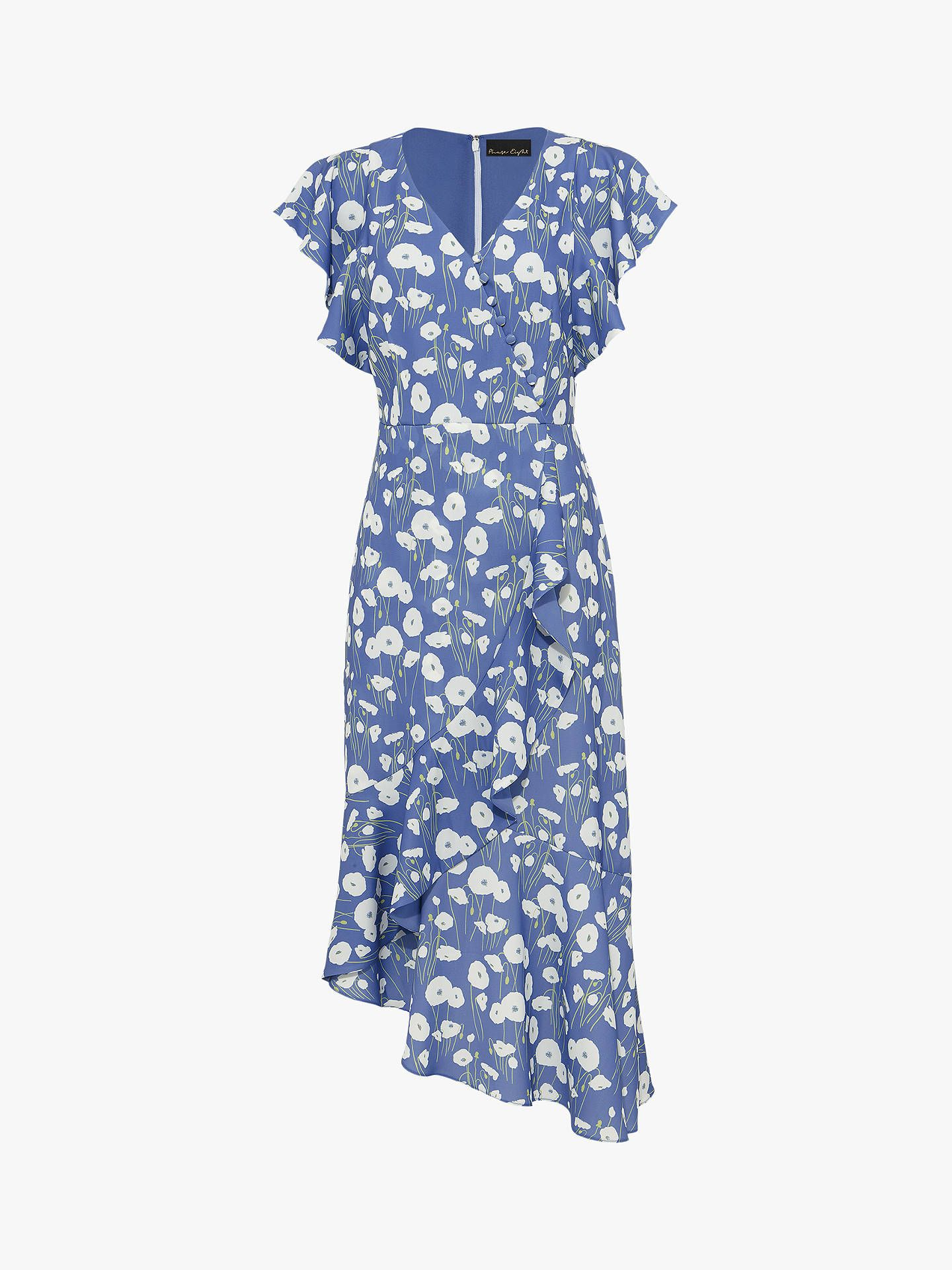 ad1ef52301 BuyPhase Eight Veronica Ditsy Floral Print Wrap Dress, Cornflower Blue, 6  Online at johnlewis.com (affiliate)