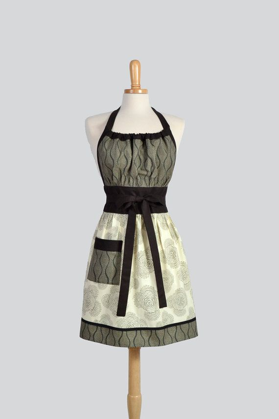 Cute Kitsch Apron by CreativeChics