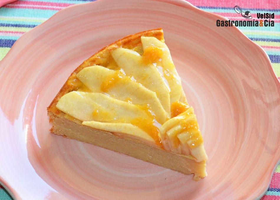 Tarta húmeda de manzana. Receta fitness (saludable) - #de #fitness #húmeda #manzana #receta #saludab...