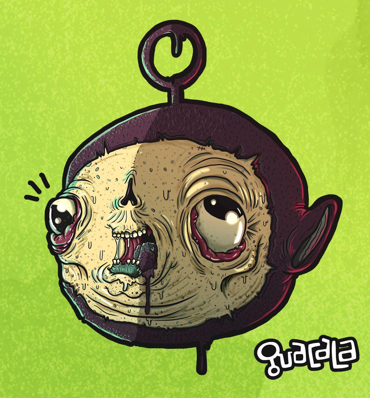 Fan Art /// teletubbies //// Ilustracion digital /// Colectivo ...