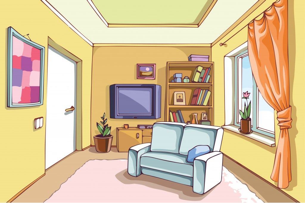 10 Ways To Visually Turn A Small Room Into A Big Room Living Room Clipart Living Room Lighting Living Room Designs