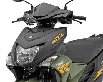 Yamaha Ray Zr Moto Gp Edition Price Model Mileage Specs Images