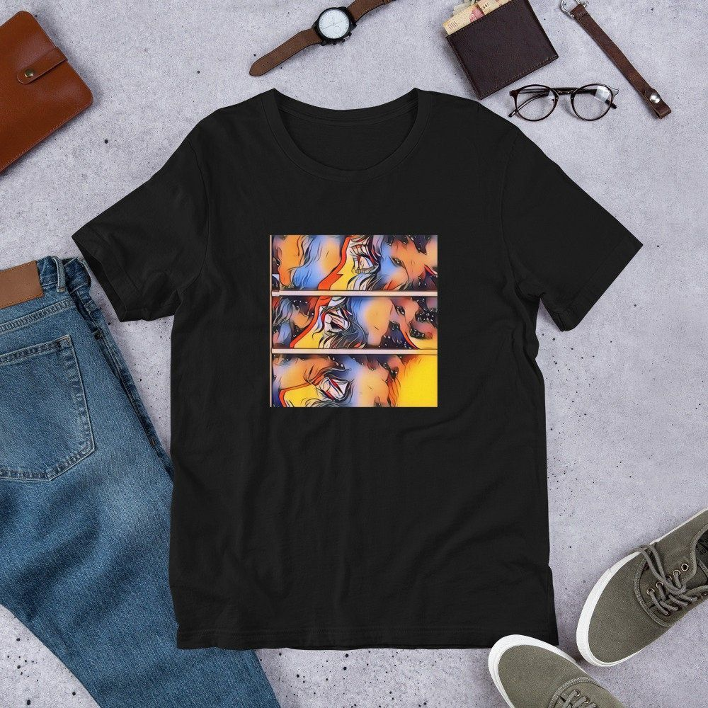 Photo of Anime Wolf Girl Aesthetic Art T-Shirt/ Anime Shirts/ Aesthetic T-Shirt / Anime Gift/ Streetwear/Anime Lover/ Manga Print/ Anime/ Art T-Shirt