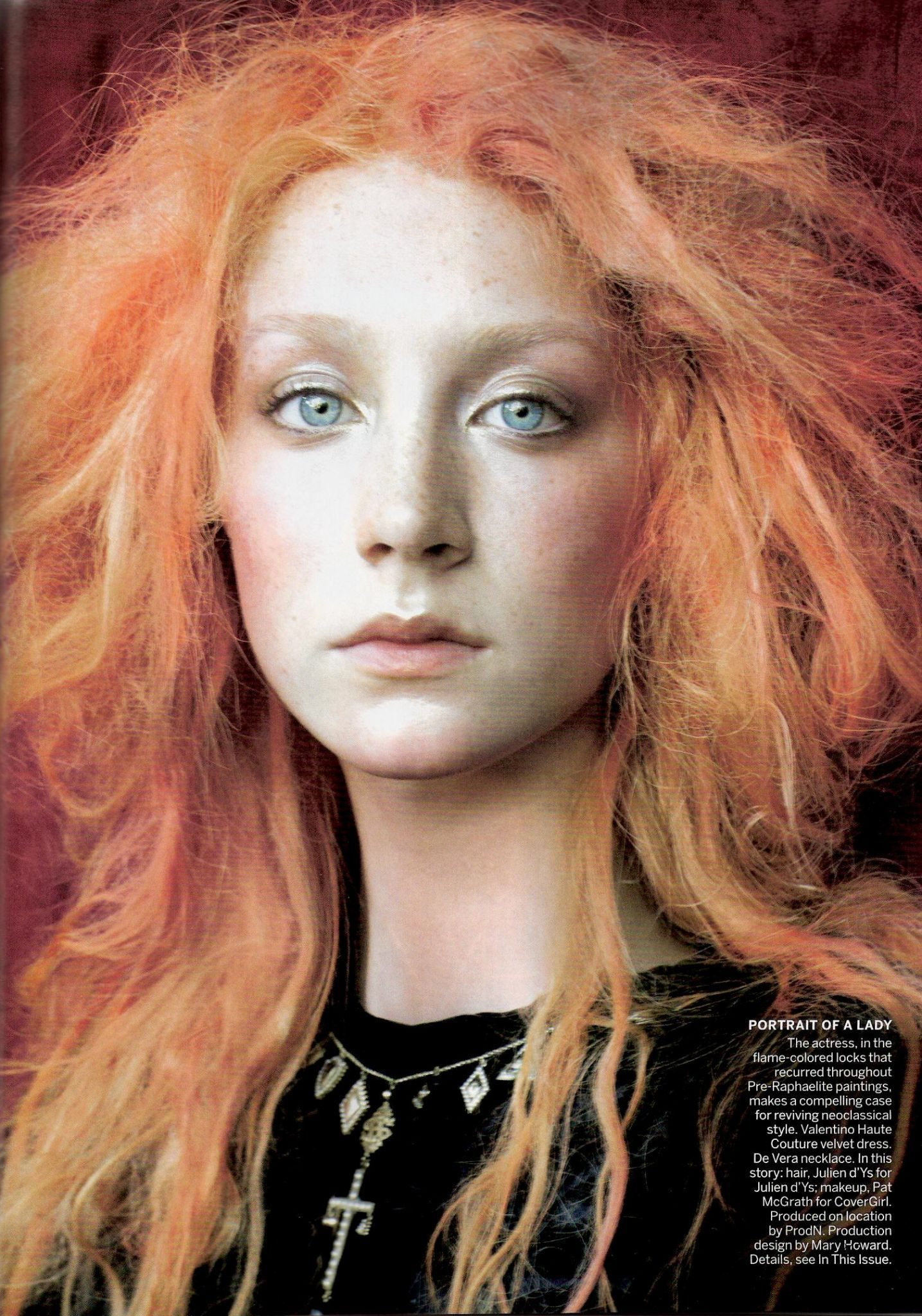 People Models Saoirse Ronan Hair Redhead Faces Steven Meisel Pre Raphaelite Interesting Faces