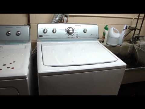 Maytag Centennial Washer Problems Funny Spin And Mixed Signals Youtube Maytag Centennial Washer Commercial Washer Maytag