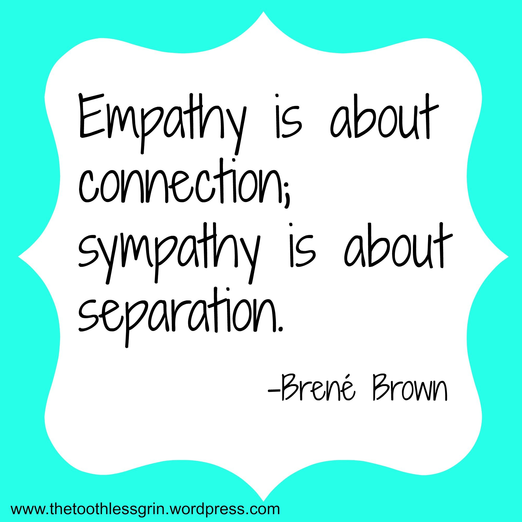 Why Sympathy Spurs Shame But Empathy Empowers