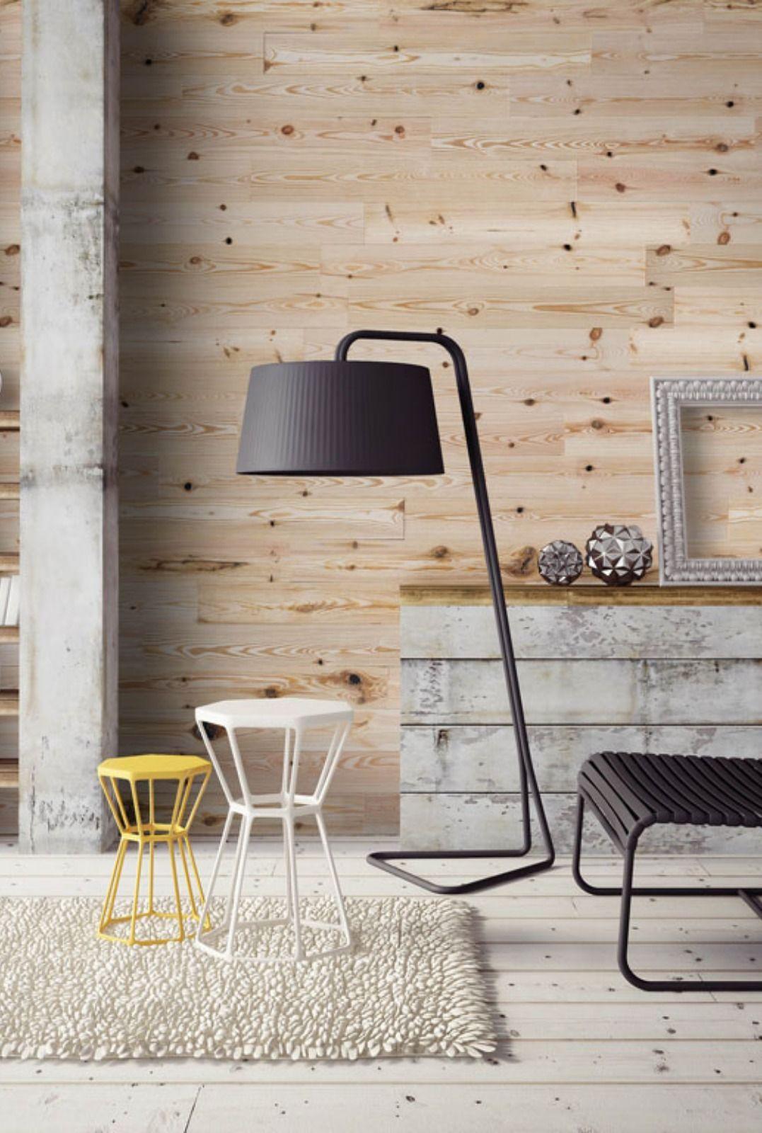 Schlafzimmer Holzverkleidung Fur Die Wand Mit Wandwood Paneele Einfach Kleben Holzwand Verk In 2020 Wooden Walls Living Room Designs Wood Cladding