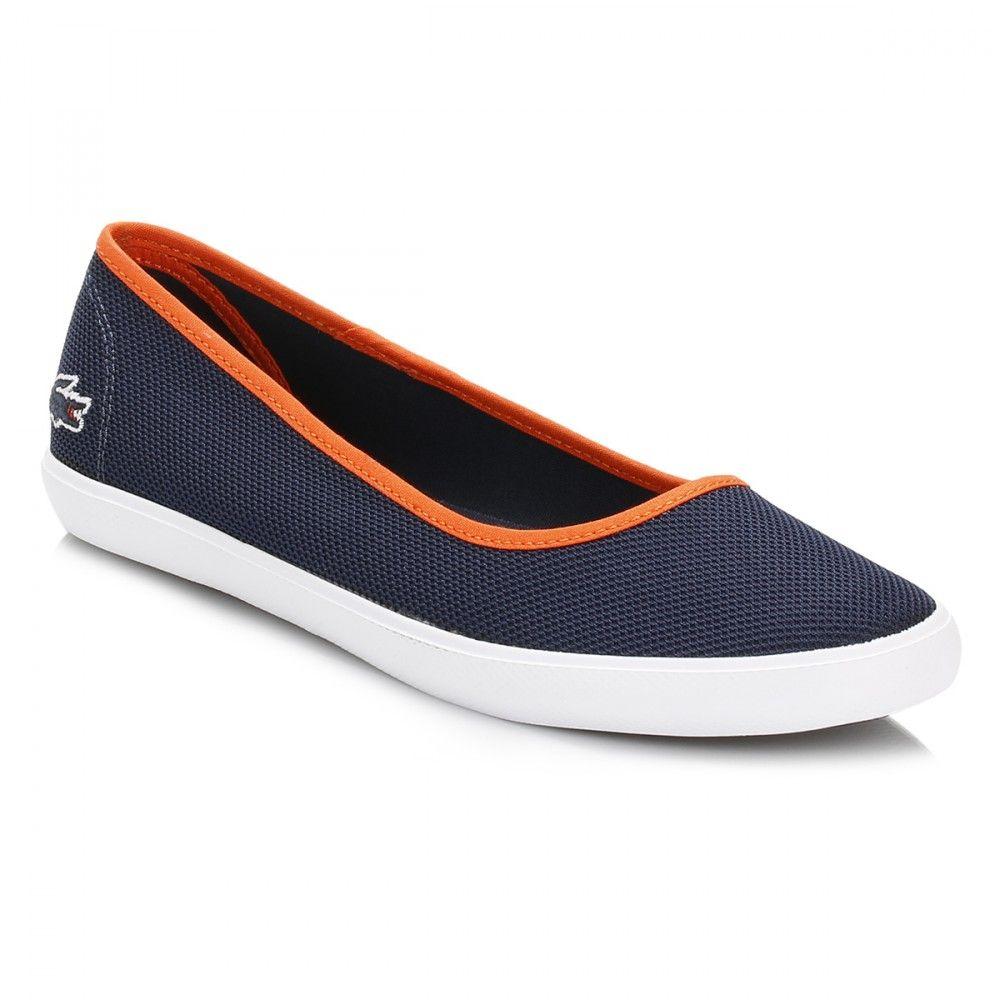 huge sale online here on sale Lacoste Womens Navy Marthe Slip On Pumps | Slip on pumps, Slip on ...