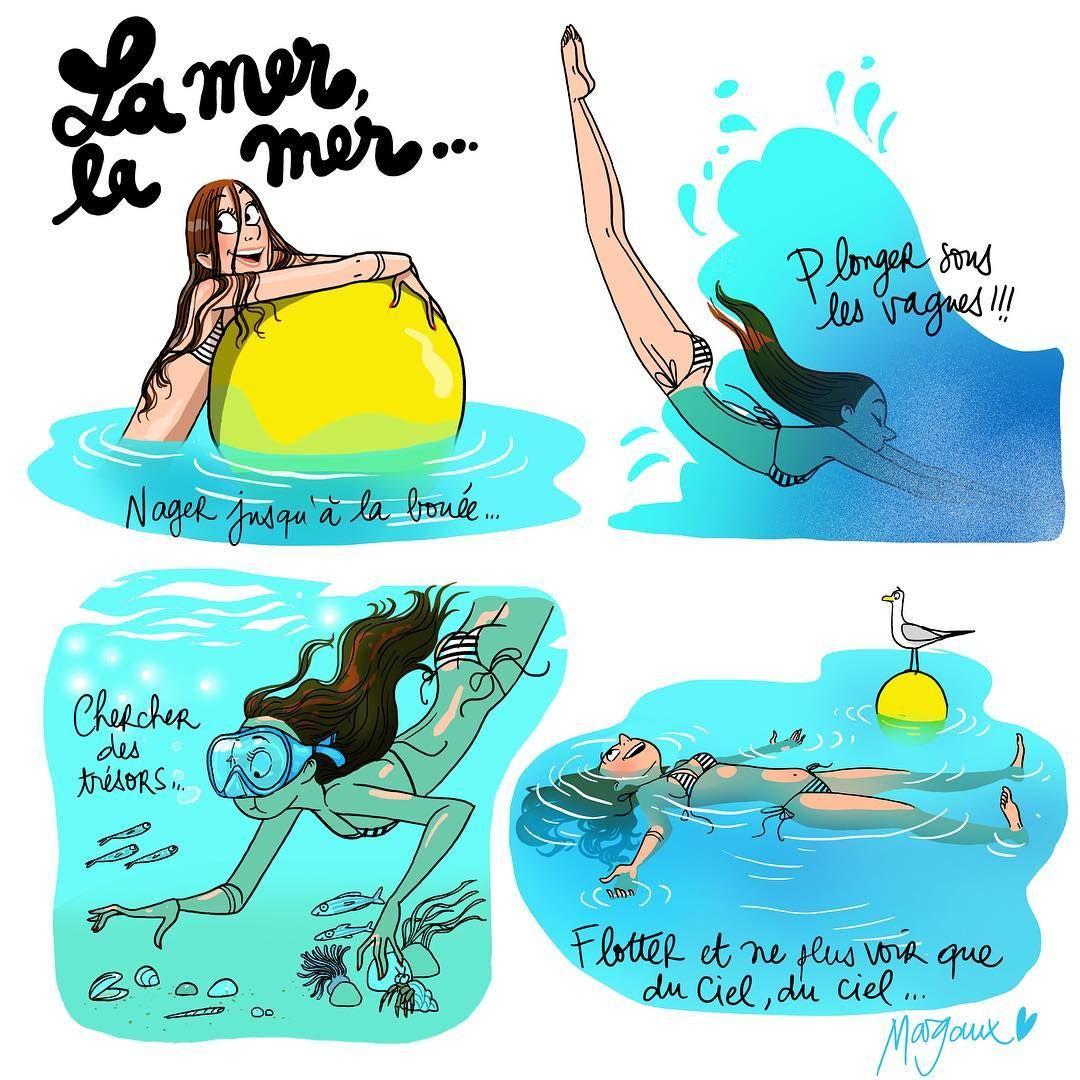 A Mermaid Tale Mer Mermaid Blue Sea été Plage