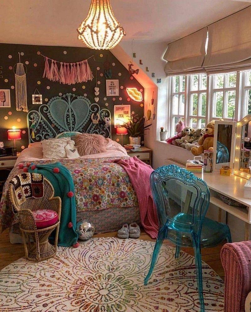 Bohemian Hippie Style Bedroom Novocom Top