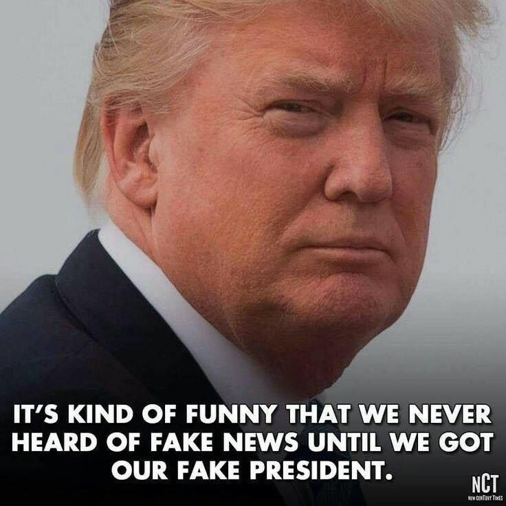 """Trump STARTED """"FAKE NEWS"""" WHEN HE SAID HE WOULD SHOW HIS"""