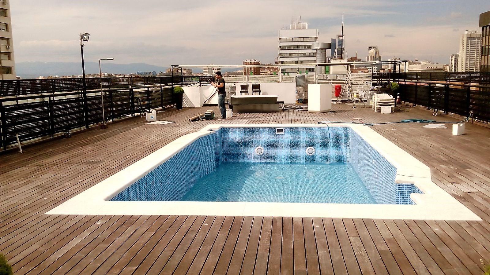 Piscinas de liner armado beautiful despues with piscinas de liner armado colocacion de liner - Liner para piscinas precio ...