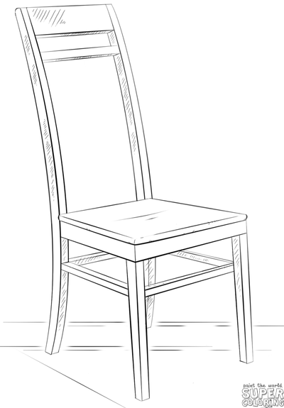 How to draw a chair | Step by step Drawing tutorials  sc 1 st  Pinterest & How to draw a chair | Step by step Drawing tutorials | warmup ...