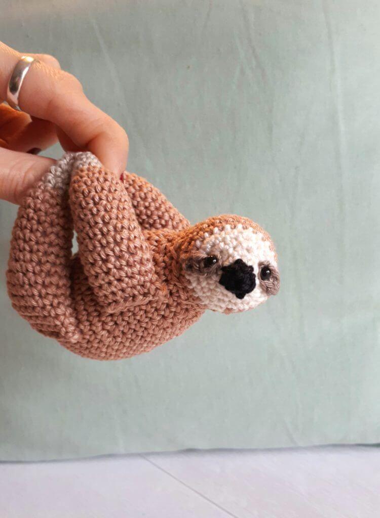 Amigurumi Crochet Sloth Free Pattern | Häkeln babymobile, Mobile ... | 1024x750