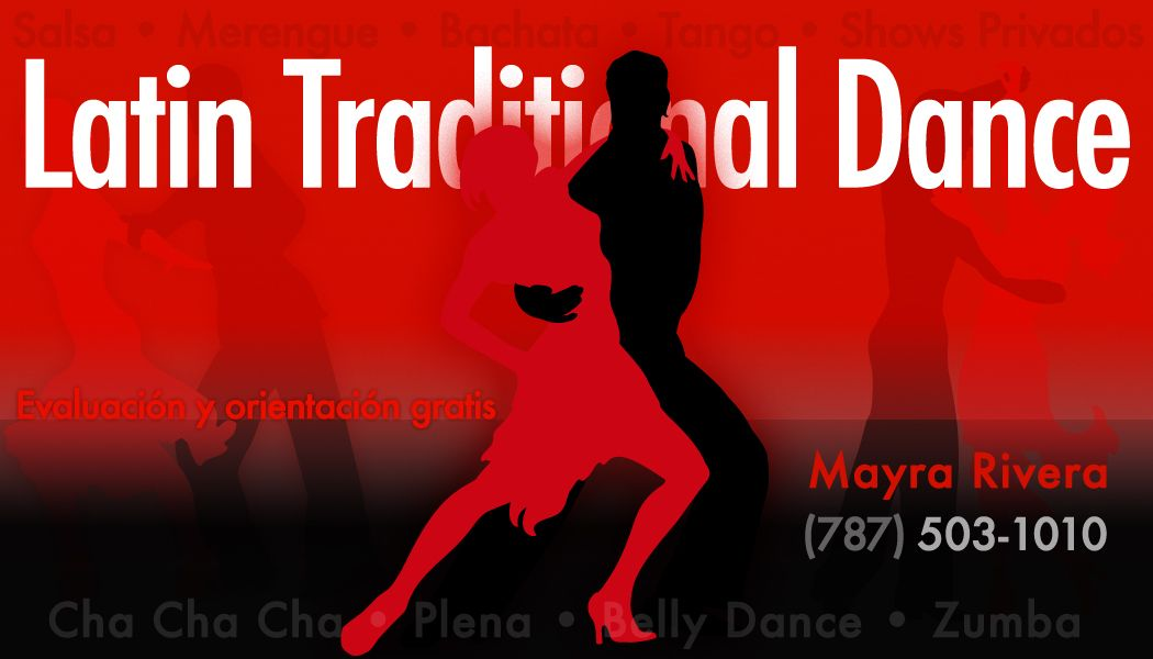 Latin Traditional Dance business card and logo | Graphic Design ...