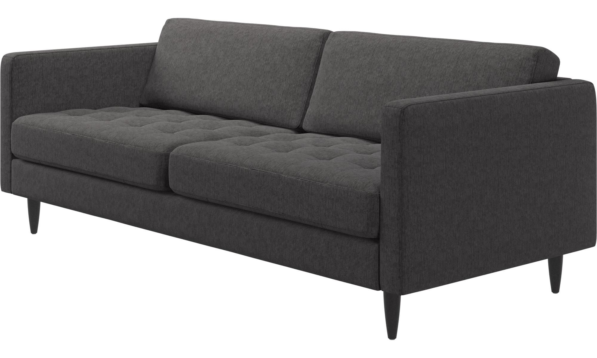 saka sofa available in fabrics and leathers Shown color dark
