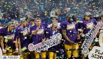 2019 LSU Tigers national championship