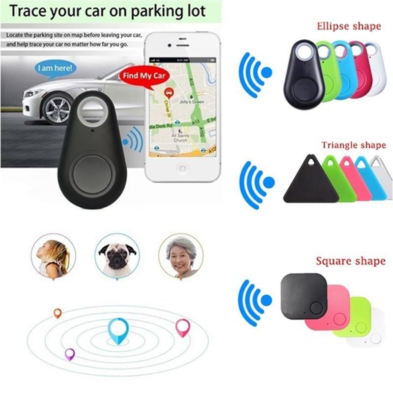 Mini Fashion Bluetooth 4 0 Tracker Gps Locator Tag Alarm Wallet Key Pet Dog Tracker Anti Lost Pocket Size Smart Tracker In 2020 Dog Tracker Gps Tracker Gps