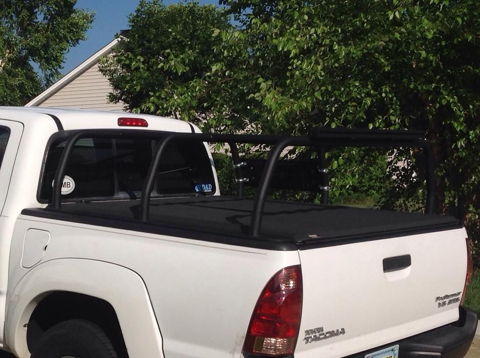 Bed Rack And Tonneau Cover Tonneau Cover Tacoma Bed Rack Cover