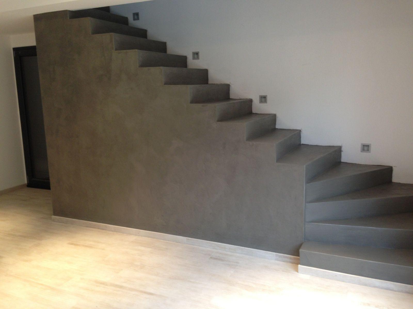 Beton cire inspiration architecture pinterest stairs concrete