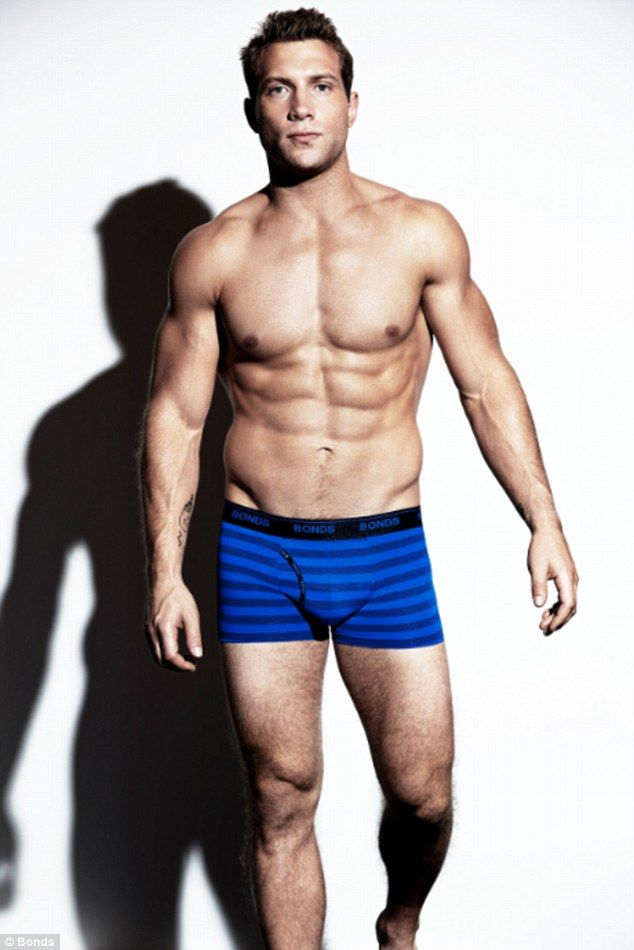 Flashing his flesh! Jai Courtney strips to his undies for a Bonds shoot 8d58b87b0
