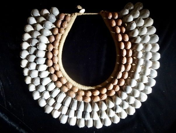 Details about Ethnic Jewelry Boho Luxe Shell Necklace Women