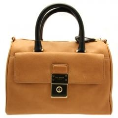 a8dfdb0a48 Ted Baker Womens Tan Katey Luggage Lock Duffel Bag