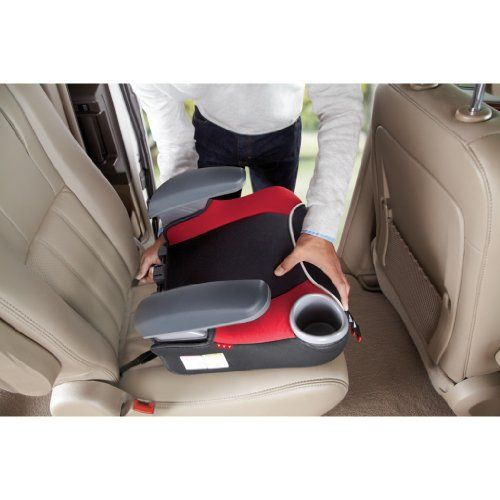 Graco Affix Backless Youth Booster Car Seat with Latch System ...