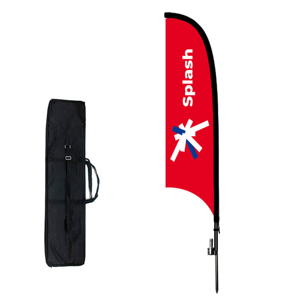 CAR WASH Advertising Promotional Feather Waving Flutter Business Flag Banners!