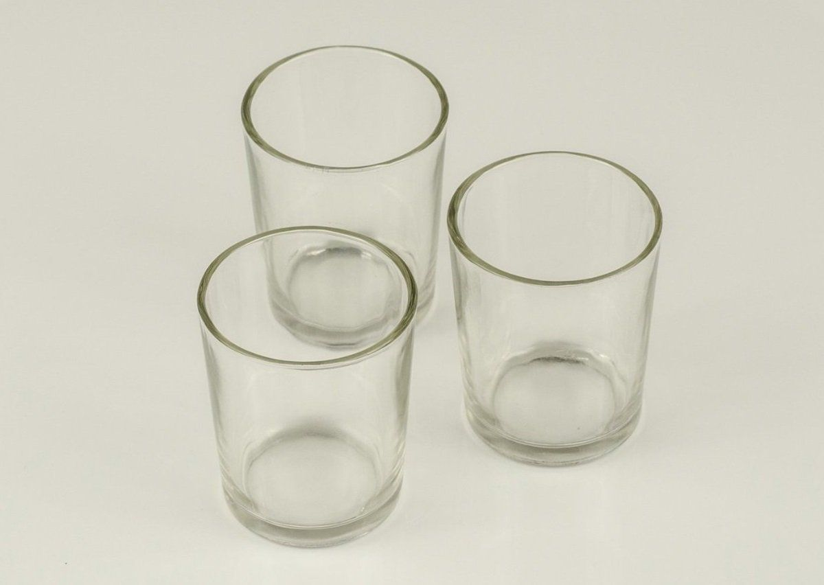 Amazon.com - 72 Clear Glass Votive Holders - Votive Candle Holders Bulk