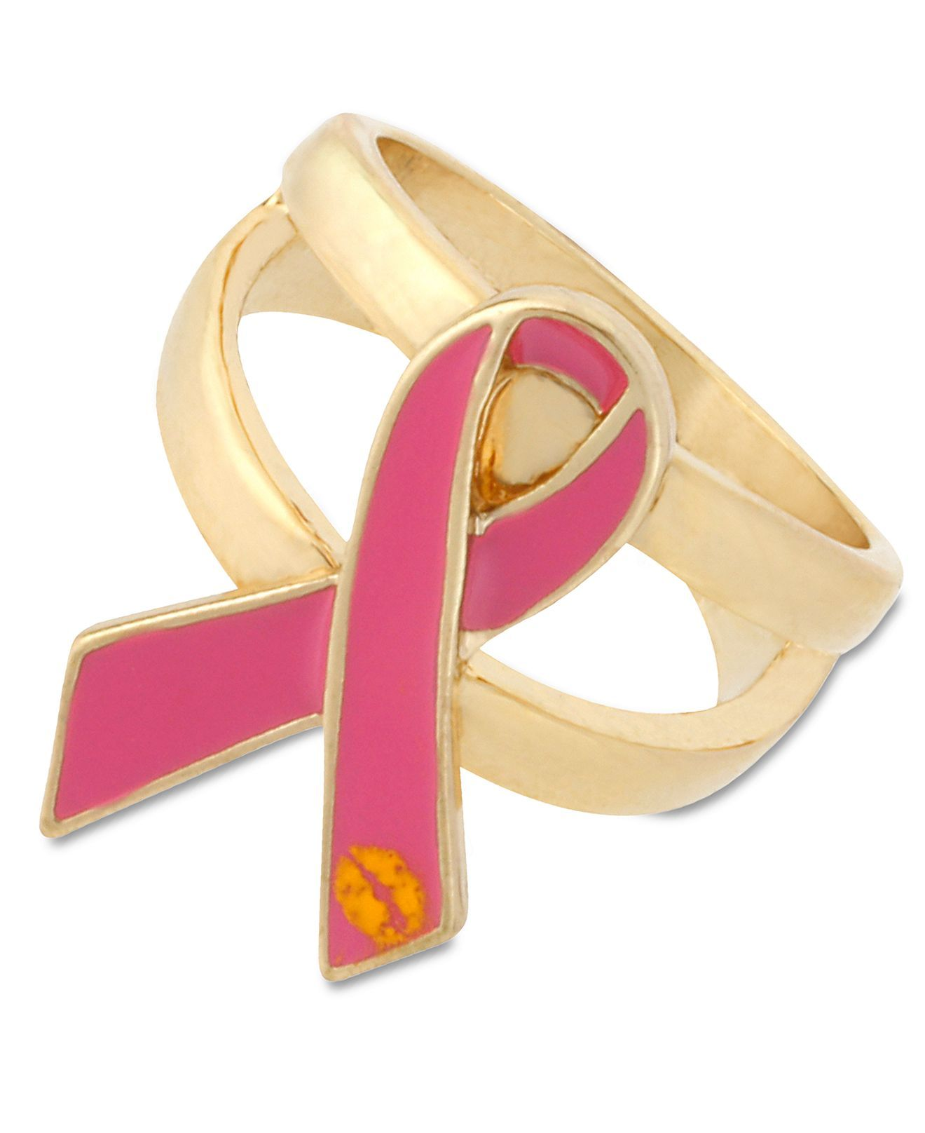 Pink Betsey Johnson Gold-Tone \